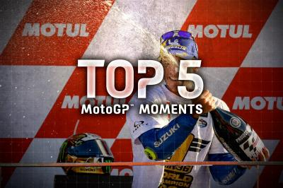 Top 5 MotoGP Moments from the 2020 #ValenciaGP