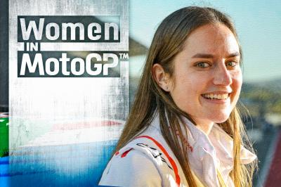 """In MotoGP™ many women work out of the spotlight"""