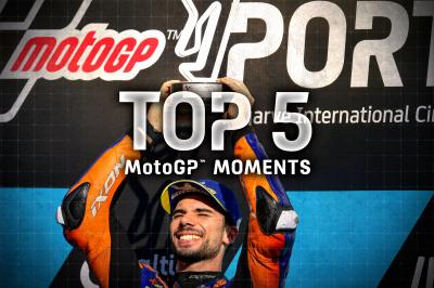 Top 5 MotoGP Moments from the 2020 #PortugueseGP