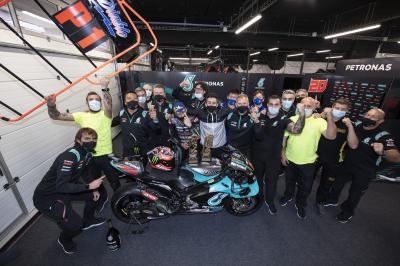 Unseen: See how the Petronas SRT team celebrated victory