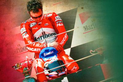 A day to remember for Ducati and Capirossi