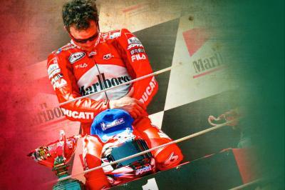 Ein unvergesslicher Tag für Ducati und Capirossi