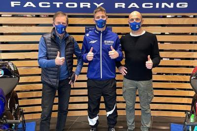 Quartararo : Premier contact avec l'équipe officielle Yamaha
