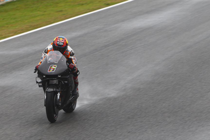 Stefan Bradl_Repsol Honda Team_Jerez Private Test_2021