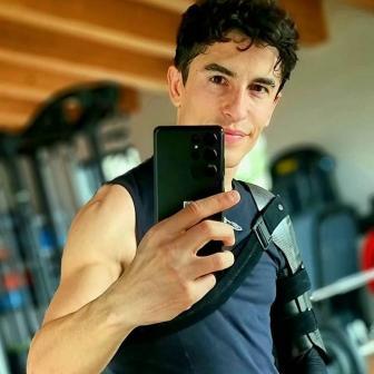 Marc Marquez kehrt zum Training zurück