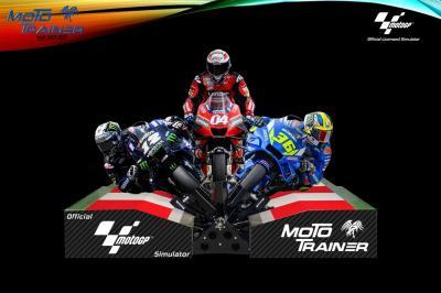 Moto Trainer porta la MotoGP™ in casa tua