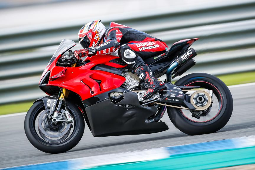Michele Pirro, Ducati Team, Jerez Private Test