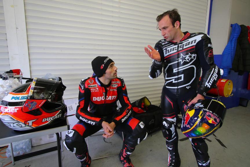 Michele Pirro, Johann Zarco, Jerez Private Test