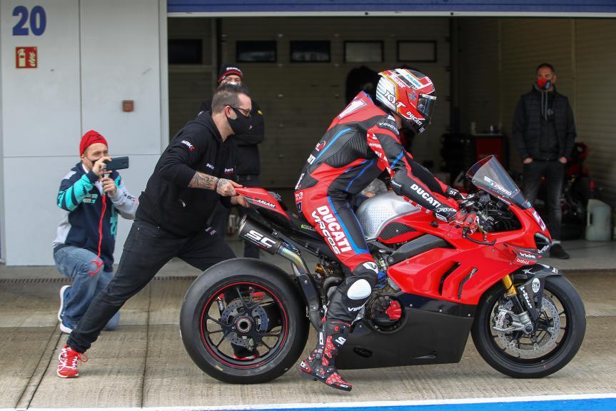 Michele Pirro, Ducati Team, Jerez Private Test