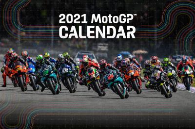 Actualizado el calendario provisional 2021 de MotoGP™
