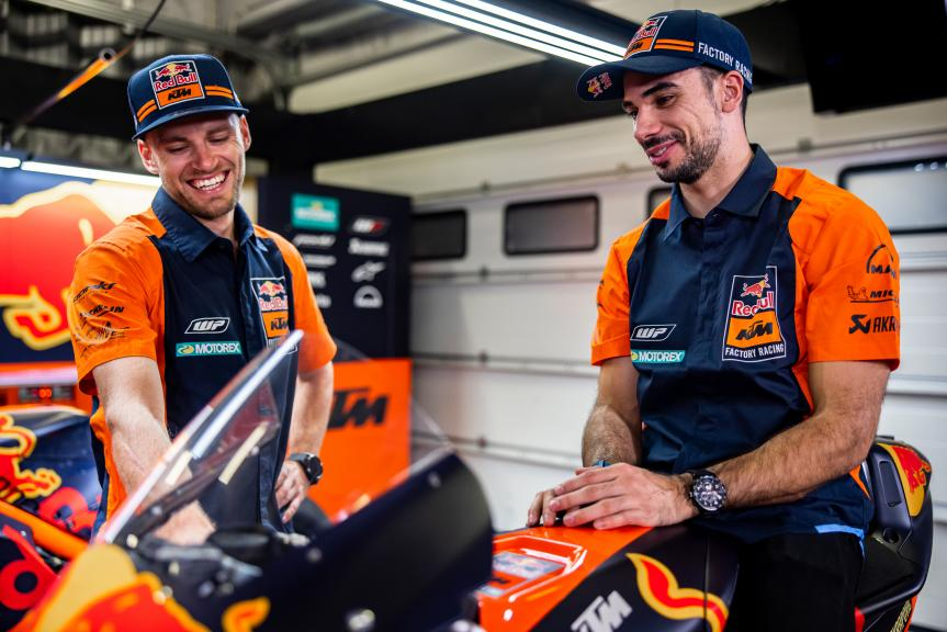 Miguel Oliveira, Brad Binder, Red Bull KTM Factory Racing