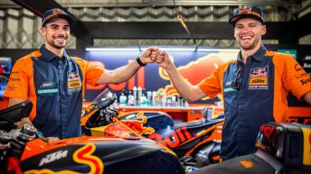 Red Bull KTM Factory Racing, pre-season shooting