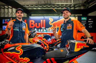 Photo gallery: Oliveira joins Binder in factory KTM colours