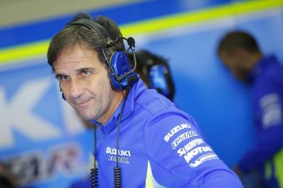 Le retour de Suzuki en MotoGP™ raconté par Brivio