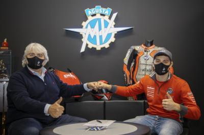 Tommaso Marcon completa el tridente italiano de MV Agusta