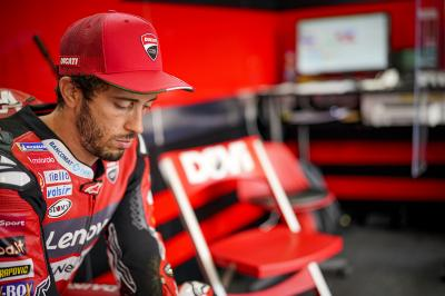 'If the call comes, he's ready' - Dovizioso waiting on HRC