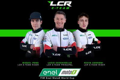 Miquel Pons y Kevin Zannoni, la nueva dupla del LCR E-Team