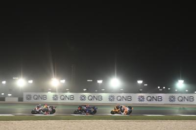 La prueba de pretemporada de Moto2 ™ y Moto3 ™ tendrá lugar en Qatar