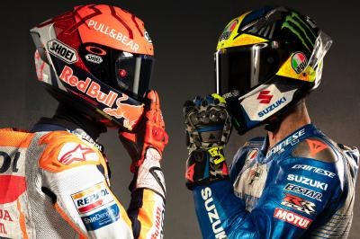 """I am the man to beat, but Marquez is the favourite"" - Mir"