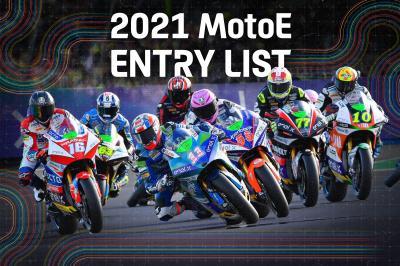 Copa del Mundo FIM Enel MotoE™ 2021: lista de inscritos