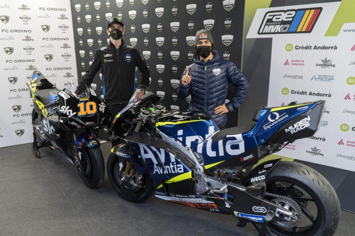 Bastianini And Marini Unveil Their 2021 Machines Motogp