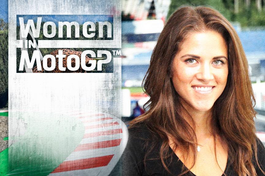 Women in MotoGP - Marianne Cornejo