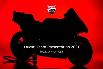 LIVE today: Ducati Team