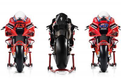 Galería: El nuevo 'look' de las Desmosedici GP para 2021