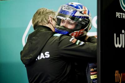 Quartararo consoles Dixon after heartbreaking Le Mans crash