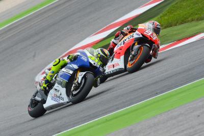 Rossi y Márquez: 'Dos talentos en un mismo instante'