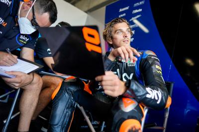 Making the step up, it's time to shine for Luca Marini