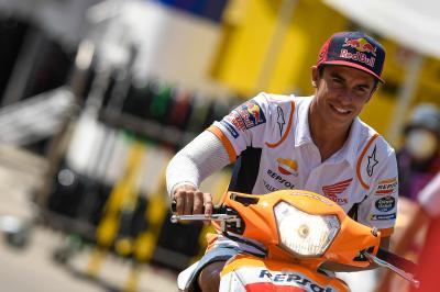 Marc Marquez passes his latest medical check-up