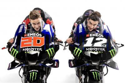 Monster Energy Yamaha MotoGP launch their 2021 title bid