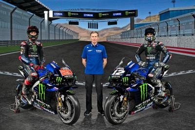 Photo gallery: 2021 Monster Energy Yamaha MotoGP bikes