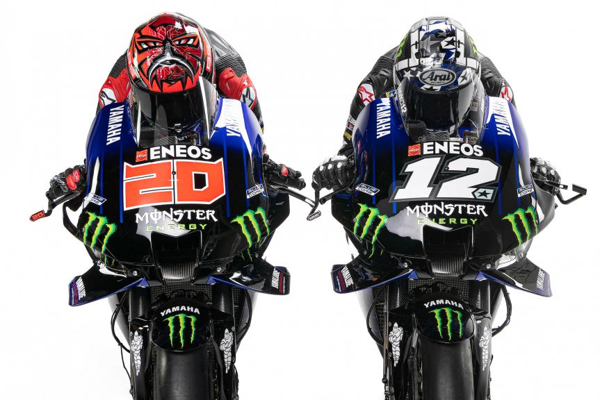 Monster Energy Yamaha MotoGP Launch 2021