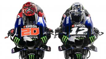 Check out the 2021 Monster Energy Yamaha MotoGP machines!