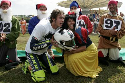 Photo gallery: Valentino Rossi's iconic celebrations