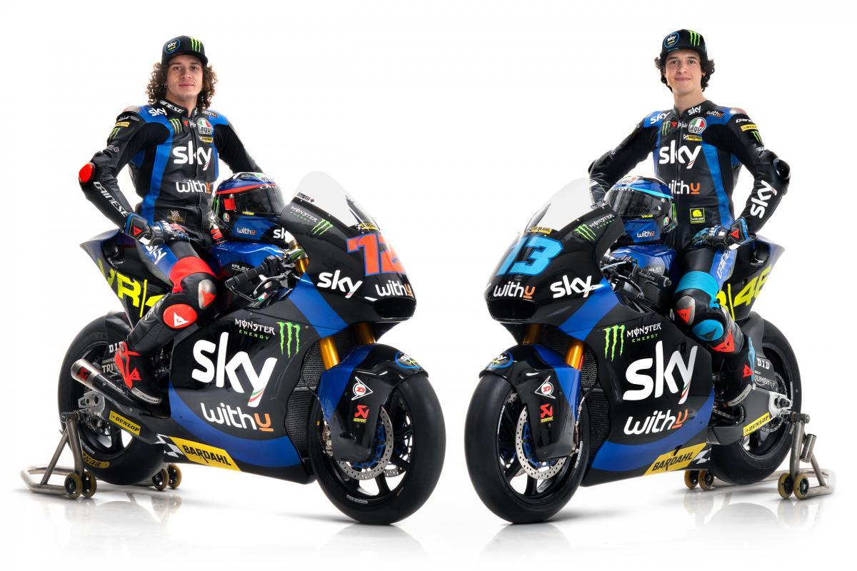 Sky Racing Team Vr46 Reveal 2021 Liveries Motogp
