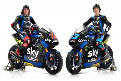 SKY Racing Team VR46 reveal 2021 liveries