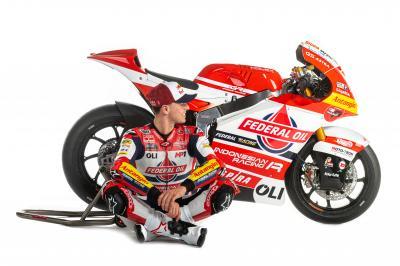 Gresini Racing desvela su proyecto 2021 para Moto2™ y Moto3™