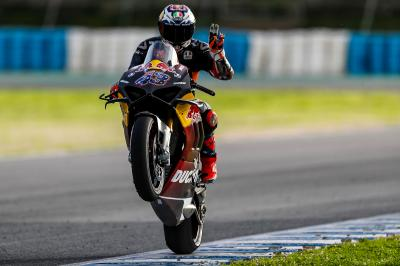 'I am a Championship contender' - Miller's Ducati dream