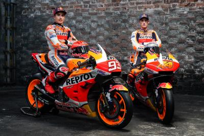 Ready for the challenge: Repsol Honda Team launch 2021 year