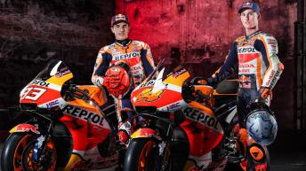 Photo gallery: 2021 Repsol Honda Team Launch