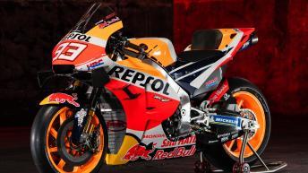 Repsol Honda bike evolution