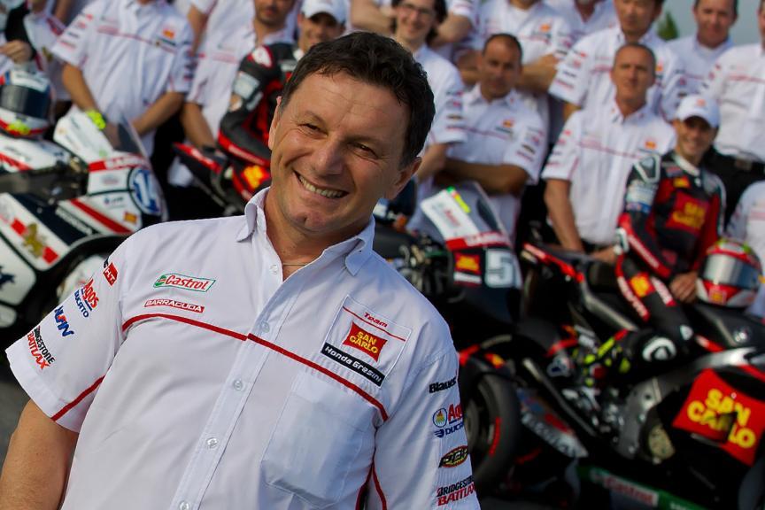Fausto Gresini, San Carlo Honda Gresini, 2012