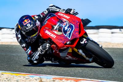 Zarco and Viñales spotted on track in Almeria