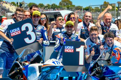 Motorcycle racing family pays tribute to Fausto Gresini