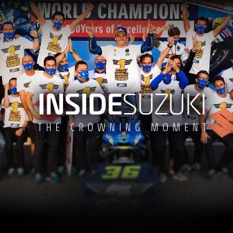 IN KÜRZE verfügbar: Inside  Suzuki – Der krönende Moment