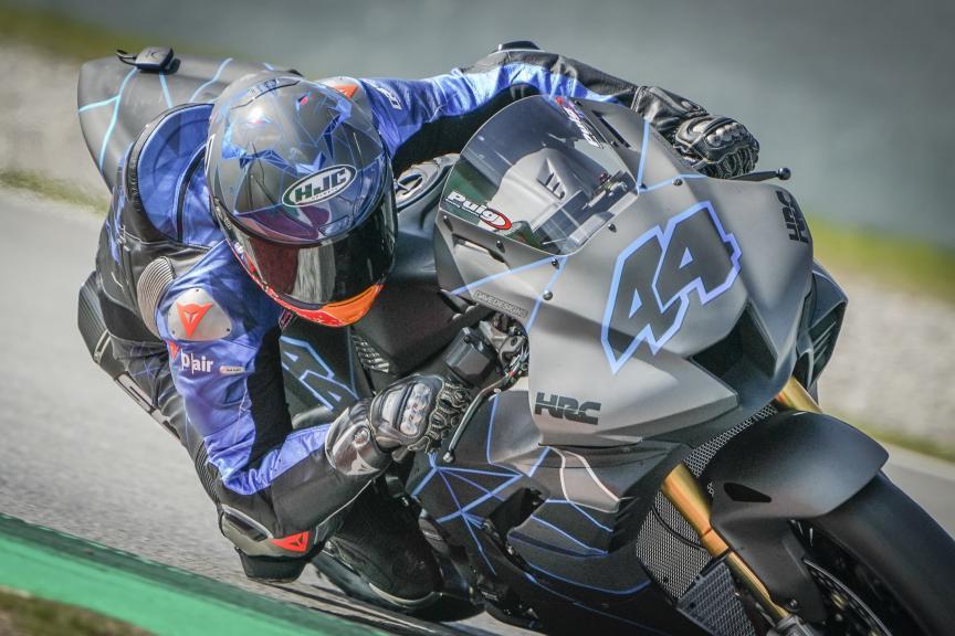 Pol Espargaro_Repsol Honda Team_Montmeló Private Test FEB_2021