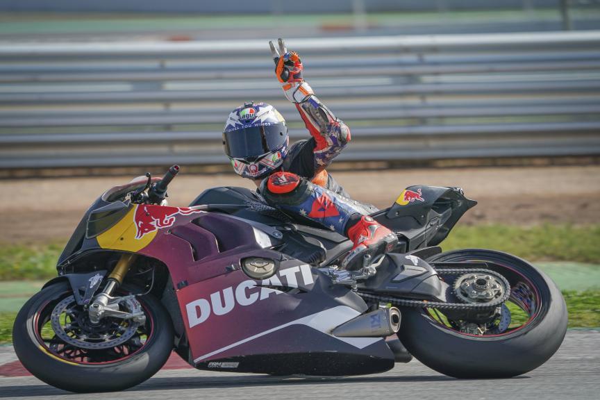 Jack Miller_Ducati Lenovo Team_Montmeló Private Test FEB_2021